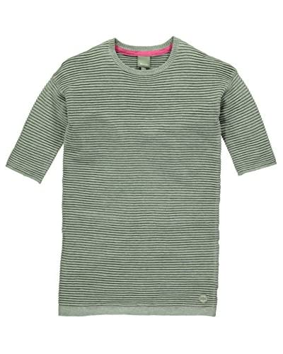 Bench T-Shirt Manica Corta  Verde NO DATA IN SABLE