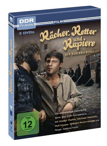 Rächer, Retter und Rapiere - Der Bauerngeneral - DDR TV-Archiv ( 3 DVD's )