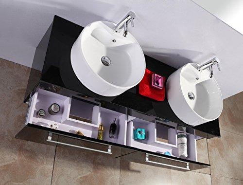 Mobile bagno arredo bagno mobile nuovo   2 lavandini   specchio   ...