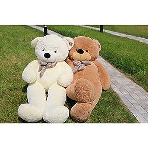Joyfay Giant Teddy Bear 78(6.5 Feet) Light Brown