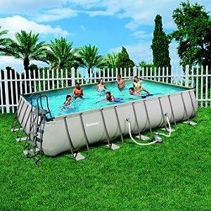 piscine hors sol ronde Parempuyre