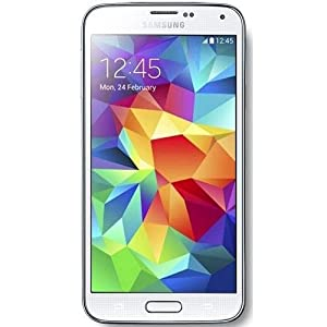 Samsung Galaxy S5 SM-G900F 4G LTE White 16GB No Warranty International unlocked Version