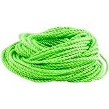 Qingsun 10Pcs Yoyo Strings Polyester Rope Replacement YoYo String Kids Toys Gifts Classic Toys (Green)