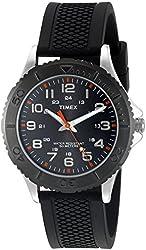 Timex Men's 'Taft Street' Quartz Black Casual Watch (Model: TW2P872009J)