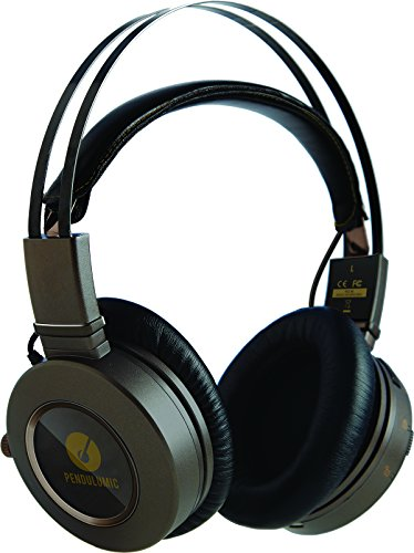 PENDULUMIC STANCE S1+ Wireless Headphone--Audiophile Sound With The Freedom Of Bluetooth 4.0 aptX (Over Ear Design, Amp, Phone Control, 30-hr. Battery Life)