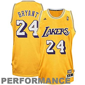 NBA Los Angeles Lakers Kobe Bryant ABA Swingman Jersey by adidas