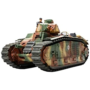 1/35 ミリタリーミニチュアシリーズ N0.287 B1 bis 戦車 (ドイツ軍仕様) 35287