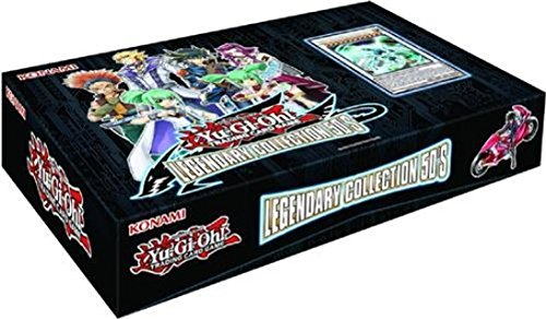 Yugioh Tcg Card Game Legendary Collection Set #5 Lc5 5D'S Box Set - 48 Cards (5 Mega Packs Boosters + 3 Promo Cards) front-855536