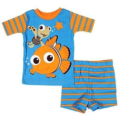 Disney Finding Nemo Toddler 12M-5T Cotton Pajama Set (24 Months)