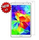 【3枚パック】【ShineZone】Samsung Galaxy Tab S 8.4 液晶保護フィルム 高光沢 指紋防止 気泡レス 反射防止タイプ