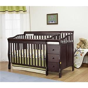 Orbelle Sarah Baby Crib N Bed Espresso