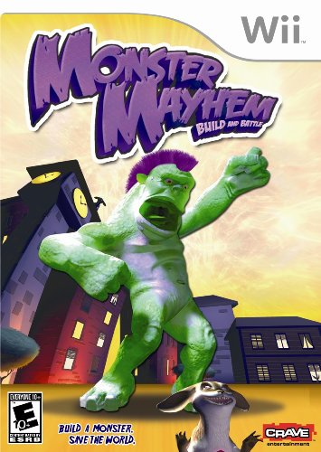 Monster Mayhem Build and Battle - Nintendo Wii