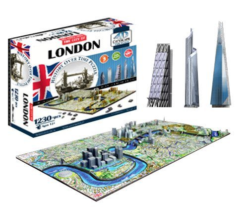4D Cityscape Puzzles & Cubes Prices in India, Sat Aug 24