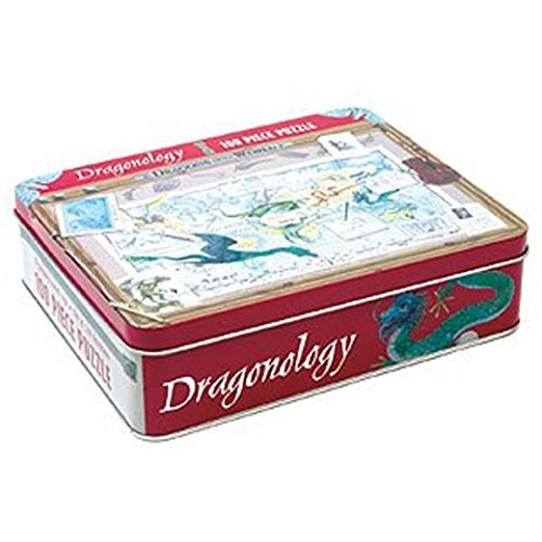 DRAGONOLOGY 100 PIECE PUZZLE by Mudpuppy Press - 1