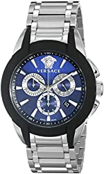 Versace Men's VQN050015 Character Stainless Steel Chronograph Watch