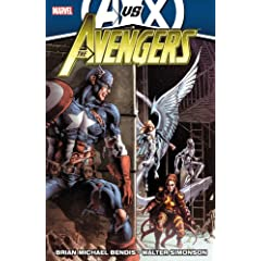 Avengers by Brian Michael Bendis - Volume 4 (AVX) (Avengers (Marvel Hardcover)) by Brian Michael Bendis and Walter Simonson