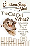 Chicken Soup for the Soul: The Cat Did What?: 101 Amazing Stories of Magical Moments, Miracles, and... Mischief