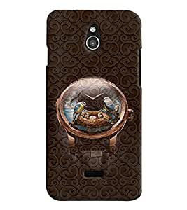 PrintVisa Cool Boy Watch 3D Hard Polycarbonate Designer Back Case Cover for Infocus M2