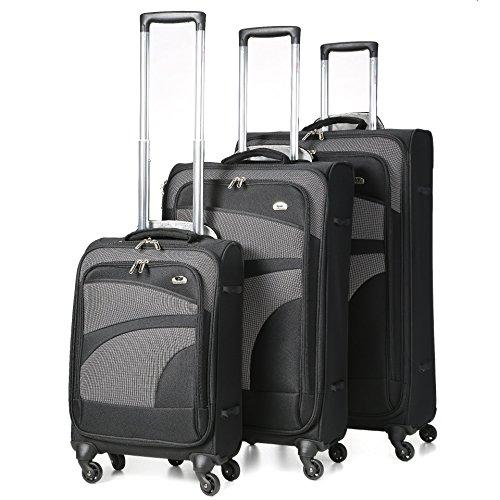 aerolite-4-wheel-spinner-lightweight-suitcase-luggage-75-cm-105-litre-black-set-of-3