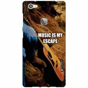 Letv Le 1s Back Cover - Silicon Music Is My Escape Designer Cases