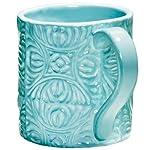 Aqua Tropical Tiles Mug