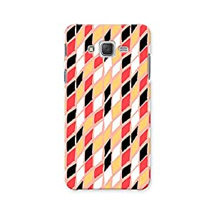 ArtzFolio Harlequin : Samsung Galaxy J2 Matte Polycarbonate ORIGINAL BRANDED Mobile Cell Phone Protective BACK CASE COVER Protector : BEST DESIGNER Hard Shockproof Scratch-Proof Accessories