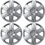 """15"""" SET OF 4 HUBCAPS TOYOTA COROLLA WHEEL COVERS DESIGN ARE UNIVERSAL HUB CAPS FIT MOST 15 INCH WHEELS"""