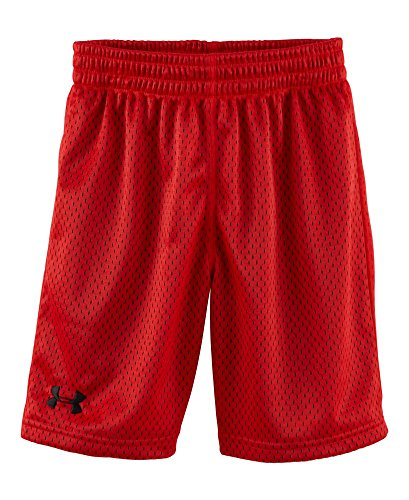 Under Armour Little Boys' Renegade Mesh Short, Red, 4