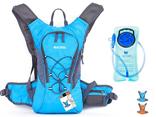 WACOOL-Waterproof-Hydration-Bladder-Pack-Cycling-Backpack-Hiking-Lightweight-Daypack