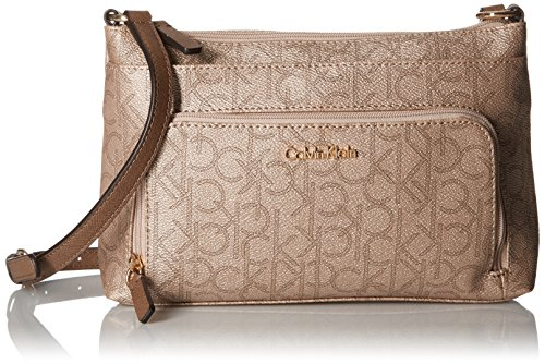 Calvin-Klein-Monogram-Cross-Body-Handbag