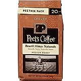 Peet's Coffee Brazil Minas Naturais Ground, 20 oz