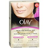 Olay Smooth Finish Facial Hair Removal Duo Kit, Coarse Hair 1 kit
