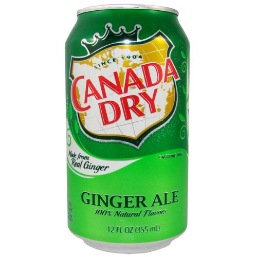 Canada Dry Ginger Ale 12 oz. (355 mL)