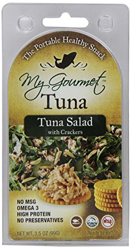 Mygourmet Tuna With Crackers, 3.5 Ounce (Pack Of 12)