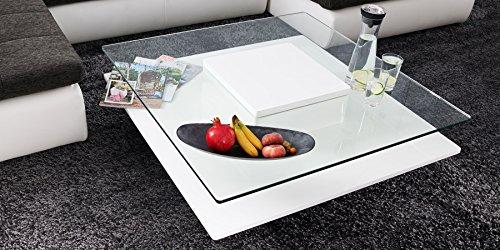 Couchtisch-wei-Hochglanz-quadratisch-Porto-100x100cm-Glastisch