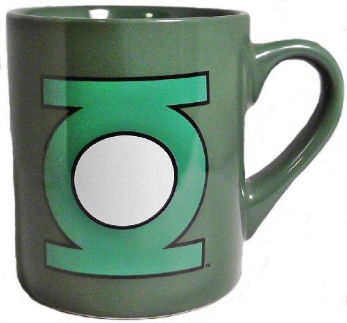 Dc Comics Green Lantern Logo 14 Ounce Ceramic Coffee Cup/ Mug