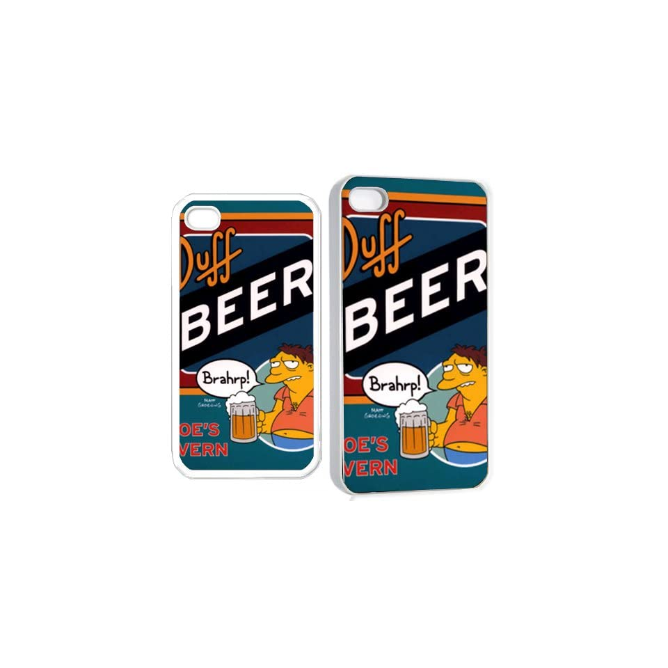 buff beer brahrp iPhone Hard Case 4s White