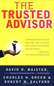 "Cover of ""The Trusted Advisor"""