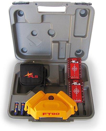 PLS Laser PLS-60568 PLS FT 90 Floor Tile Layout Combo Pack , Yellow
