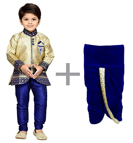 AJ Dezines Kids Dhoti Kurta and Pyjama Set for Boys