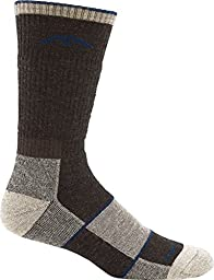 Darn Tough Vermont Merino Wool Boot Full Cushion Sock (Chocolate, Large 10-12)