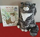 Official Sainsbury's Mog The Cat Plush Toy (30cm tall) & Mog's Christmas Calamity Book 2015 Xmas Advert