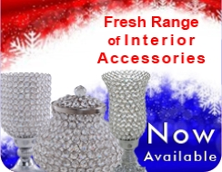 Crystal Interior Accessories from Homescapes