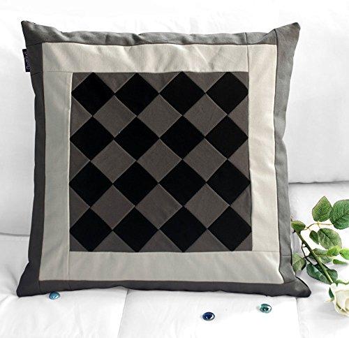 Streifen dekorative Kissen werfen Kissen Dekor Baumwolle Kissen multi Farbe -