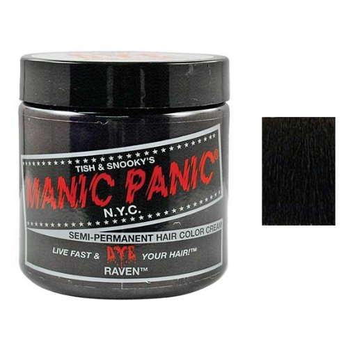 Manic Panic Ebony/Raven Cream Hair Color Dye