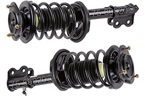 Pair Brand New Complete Front Left & Right Strut Shock Coil Spring Assembly - BuyAutoParts 75-800202C New (Coil Shock Toyota Corolla 2000 compare prices)