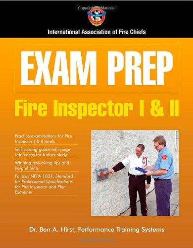 Exam Prep: Fire Inspector I  &  II (Exam Prep (Jones & Bartlett Publishers))