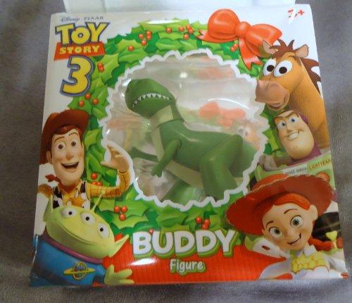 Buy Low Price Mattel Toy Story 3 Christmas Single Buddy Figure Rex the Dinosaur (B004GZXSRW)