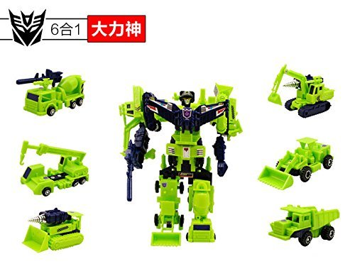 No retail box 22cm Tall Devastator Figure 6-in-1 Multiple Toys by Pasuk2788 (Transformers United Drift compare prices)