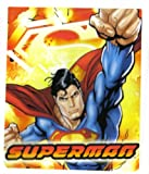 "Superman Fiery 50"" x 60"" Fleece Throw"